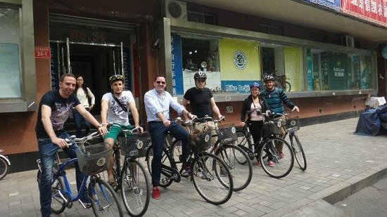 Bike Beijing - Day Tour: Our Group