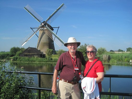 Réseau de moulins de Kinderdijk-Elshout : Iconic keepsake photo site, Kinderdijk Mill Netwok, July 2013