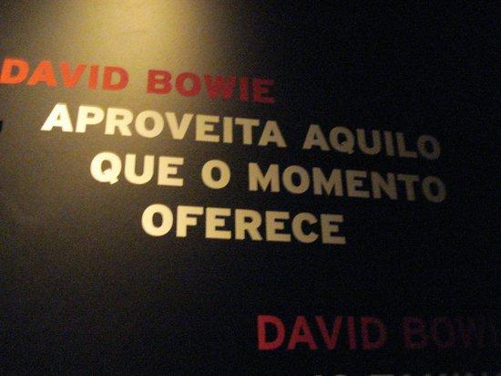 Museum of Image and Sound: Exposição David Bowie