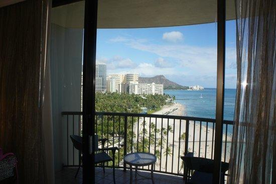 Hilton Hawaiian Village Waikiki Beach Resort: ダイヤモンドヘッドが見える部屋を・・・