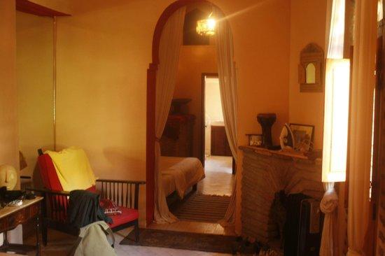 Riad Hidden: nuestra habitacion