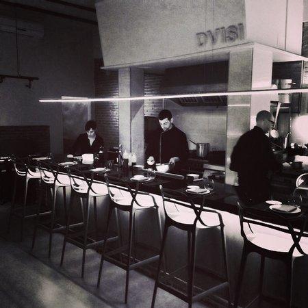 Restaurant Dvisi: Comedor