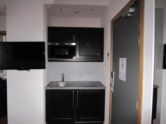 Hotel Ambre: キッチン