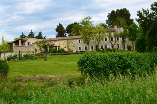 La Moneze Basse: The building, a converted winery
