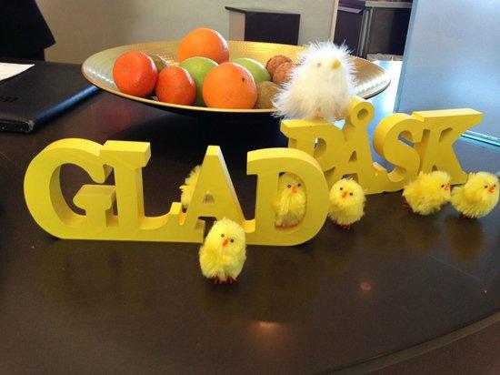 Clarion Hotel Arlanda Airport: Reception