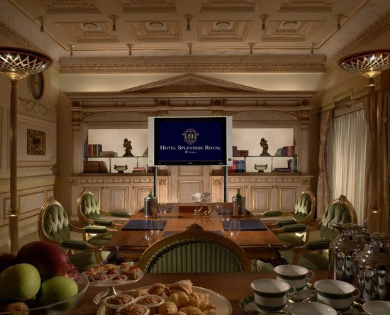 Hotel Splendide Royal: Meeting Room