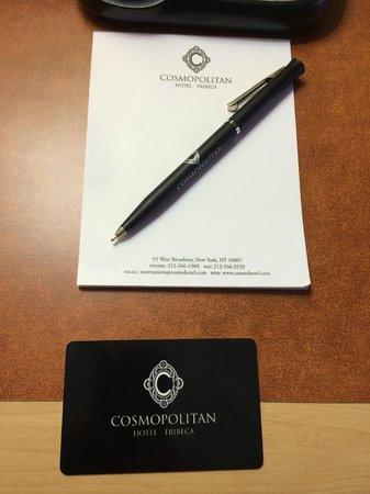 Cosmopolitan Hotel - Tribeca: key