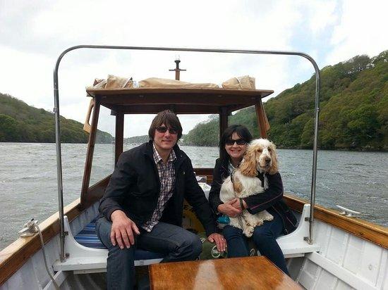 Fowey Picnic Boat: Sam, Dave and little Alf xx