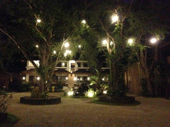 Acuaverde Beach Resort & Hotel: pretty lights at night