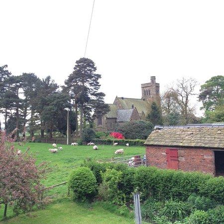 Yew Tree Farm: The pretty church