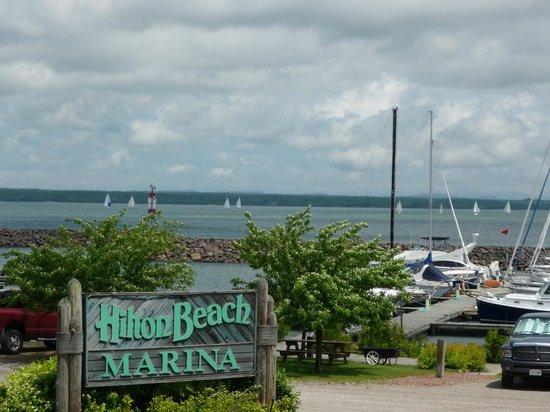 Hilton Beach, Canada: Marina