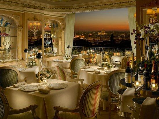 Mirabelle Restaurant Picture Of Hotel Splendide Royal Rome
