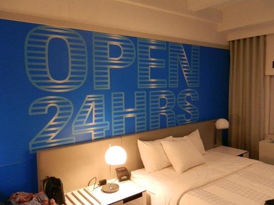 Row NYC Hotel : Detalle de nuestra habitación