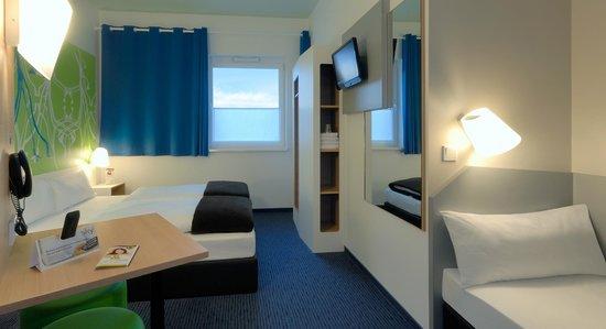 B&B Hotel Paderborn - Familienzimmer für 3 Personen
