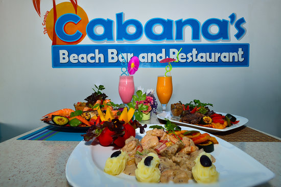 Cabana's beach bar & restaurant