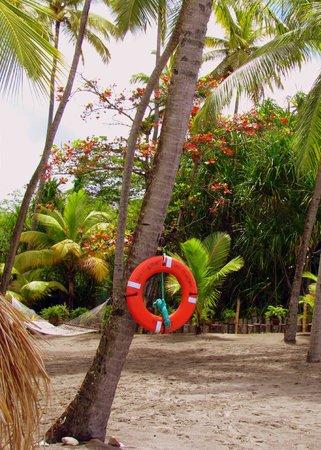 Jade Mountain Resort: on the beach
