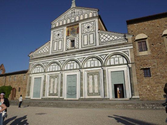 Basilica San Miniato al Monte : Facciata di San Miniato