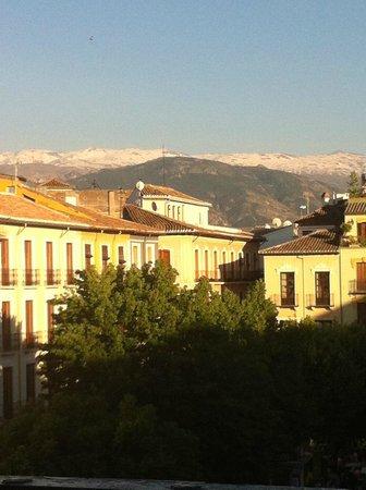 Casa palacio Lopez Daza: View from the apartment balcony