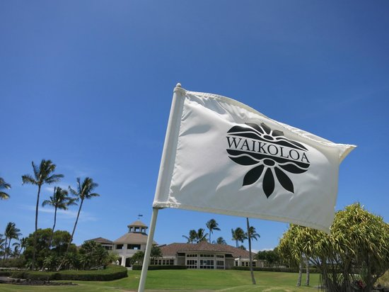 The Bay Club at Waikoloa Beach Resort: 隣接のゴルフコース