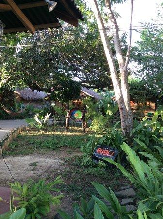 Subli Guest Cabins: garden