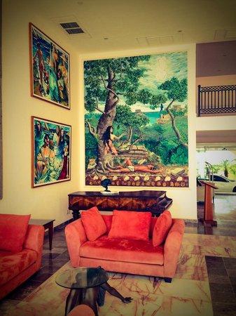 Hotel Casa Turquesa: Hotel art