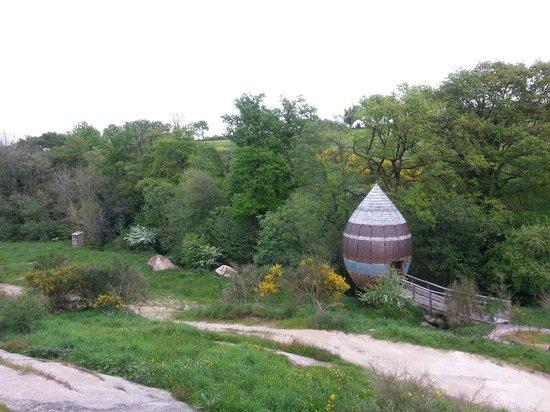 Terragora Lodges : Vue d'une Chrysalide