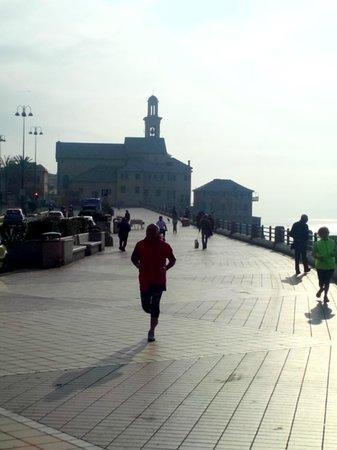 Boccadasse : la passeggiata mattutina