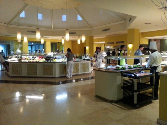 Now Larimar Punta Cana: Small part of the huge buffet