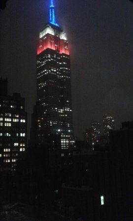 NH New York Jolly Madison Towers: Hasta el Empire State es del Atleti !!