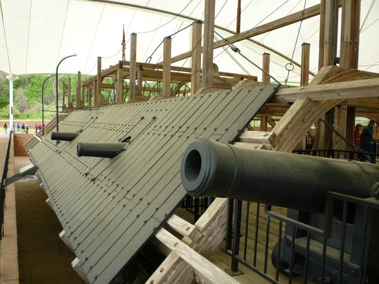 U.S.S. Cairo Museum: Ironclad war ship
