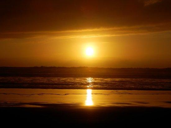 Tolovana Inn: Sonnenuntergang