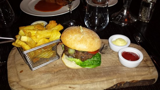59 New Street: Burger and triple cooked chips