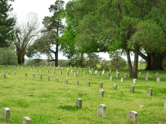 Vicksburg National Cemetery: Most are unknown