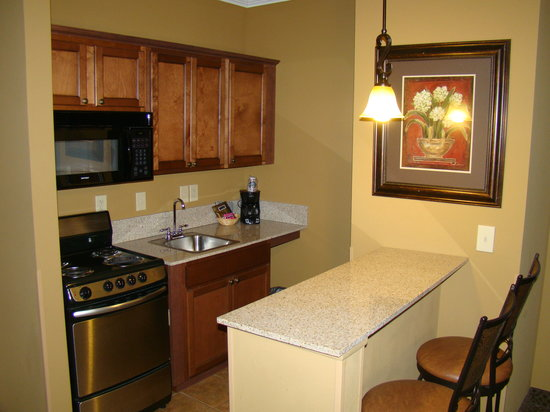 Mountain Lodge: ALL Guest Rooms Have Full Kitchens