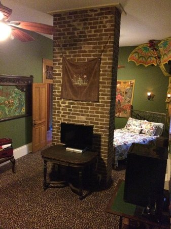 Lookout Inn of New Orleans: Bolliwood Room