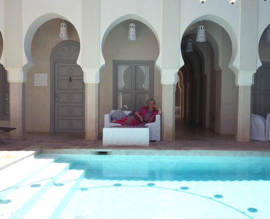 Riad Nashira & Spa : pool all to myself!