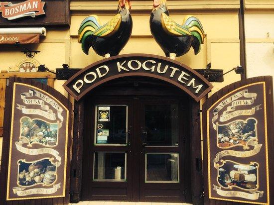 Karczma Pod Kogutem : The entrance