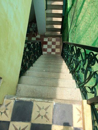 Rambutan Hotel Siem Reap : Steep stairs! (Common in Cambodia)