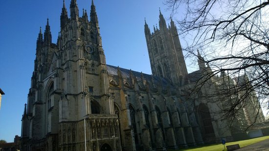 Canterbury Cathedral Lodge: Sunset