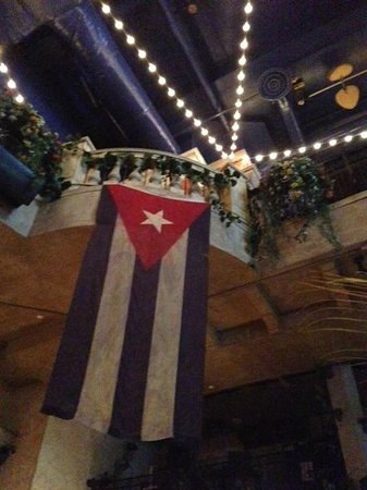 Cuba Libre Restaurant & Rum Bar : View from above table