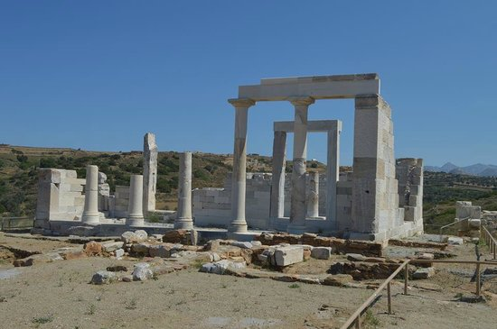 Temple of Demeter: The Temple of Dimitra, Naxos, Greece