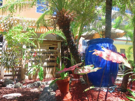Ocean Inn: Tropical Garden