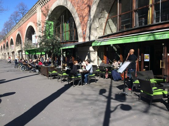 Le Viaduc Cafe : La nouvelle terrasse
