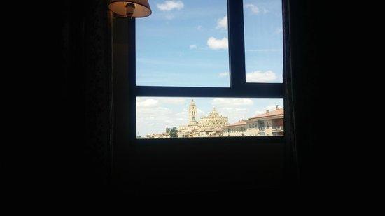 Hotel Corregidor: vistas desde la cama