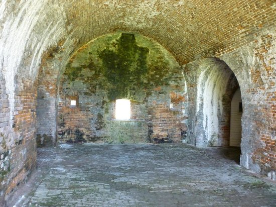 Fort Morgan State Historic Site : Battle station