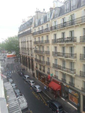 Hotel Bastille Speria : Vistas desde la habitación. Al fondo, la place de la Bastille