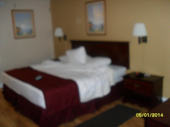 BEST WESTERN Hammond Inn & Suites: Comfy bed