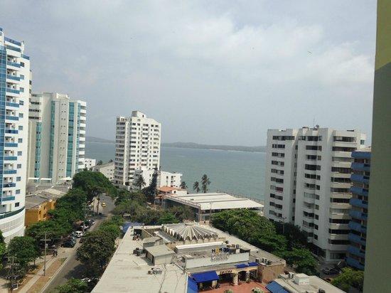 Hotel Dann Cartagena: Balcon Habitacion