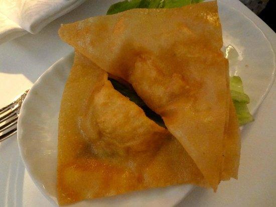 """Lao Tseu: Raviolis frits (entrée du menu """"vapeur"""")"""