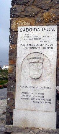 Cabo da Roca: здесь кончается земля и начинается море